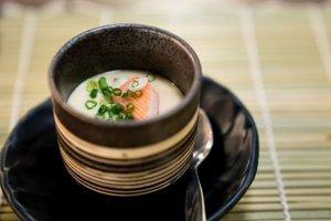 Chawanmushi Japanese Steamed Egg Recipe