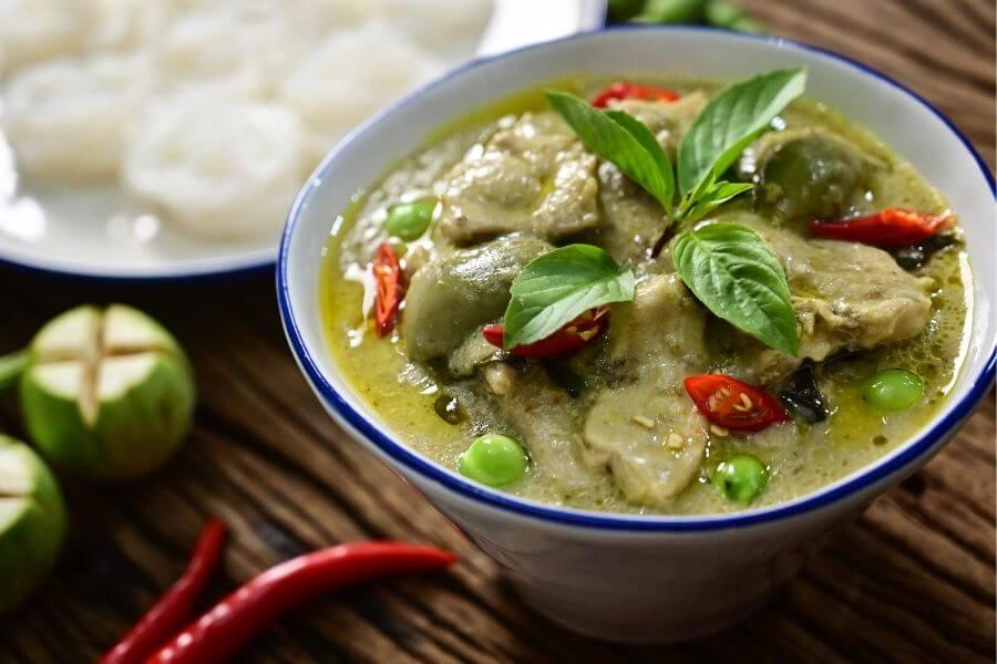 Thai Green Curry Recipe Image