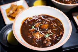 Korean Jjajangmyeon made during D'Open Kitchen Cooking Class