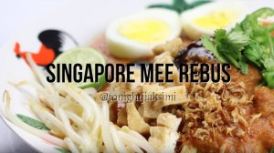 Mee Rebus Recipe made during D'Open Kitchen Cooking Class