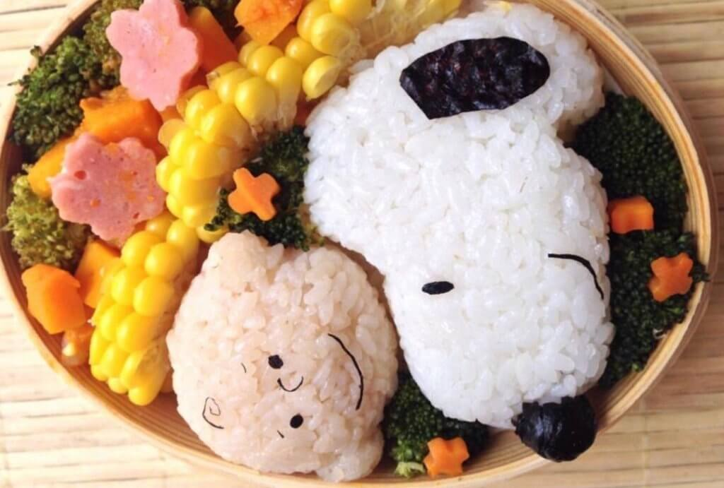 Snoopy and Friends Bento