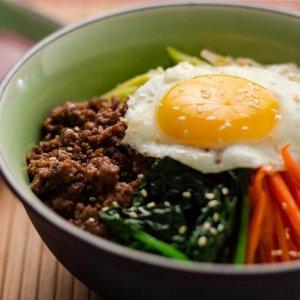 Korean Bibimbap Made During D'Open Kitchen Cooking Teambuilding Class