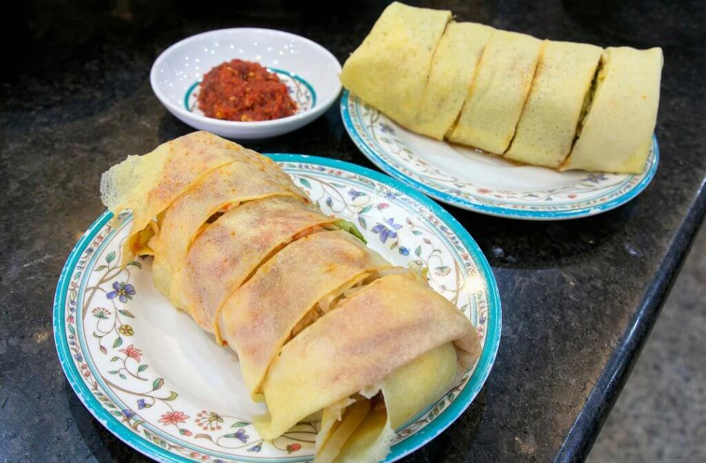 Singapore Popiah Made During D'Open Kitchen Cooking Class