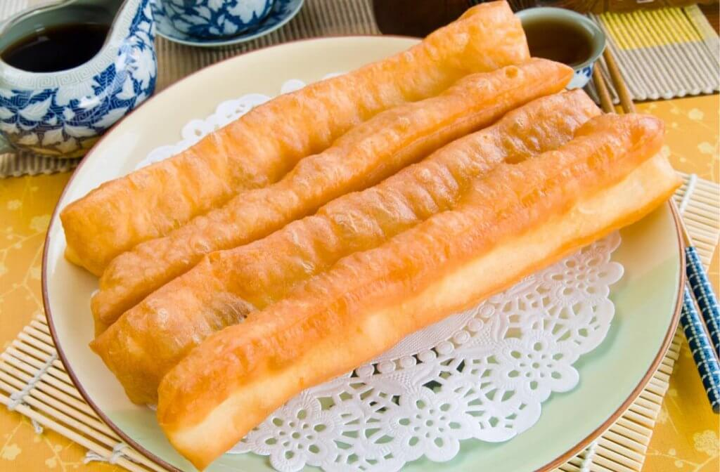 Youtiao Made during D'Open Kitchen Cooking Class