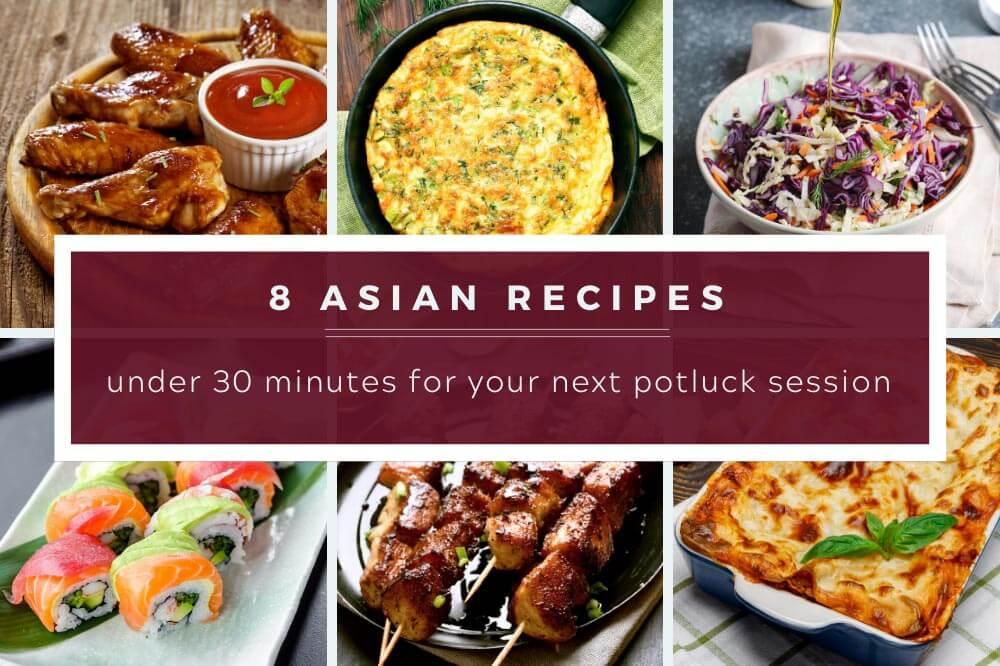 asian recipe for pot luck
