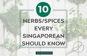 Herb and spices for cooking