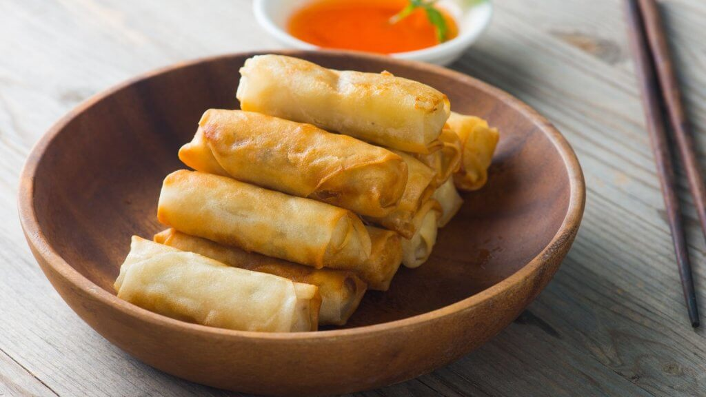 Cantonese Deep Fried Spring Roll