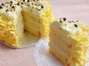 Durian Mousse Cake